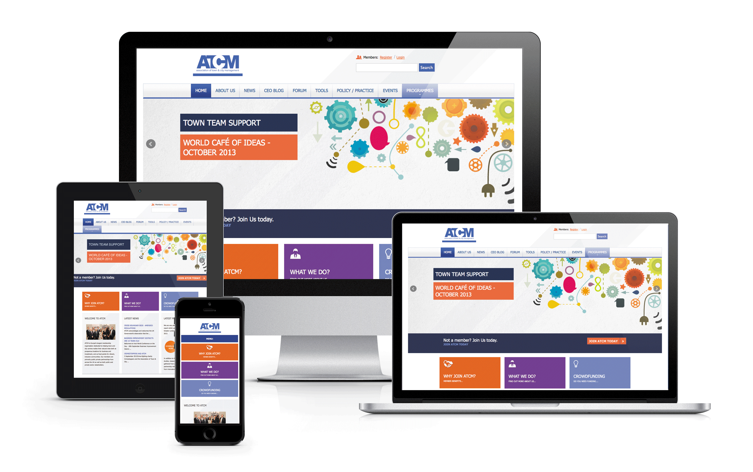 Responsive Websites for Mobile, Tablet and Desktop
