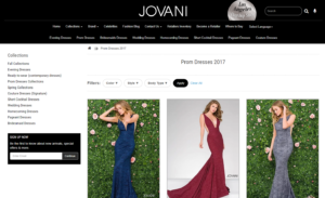 Jovani Product Category