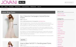 Jovani Blog