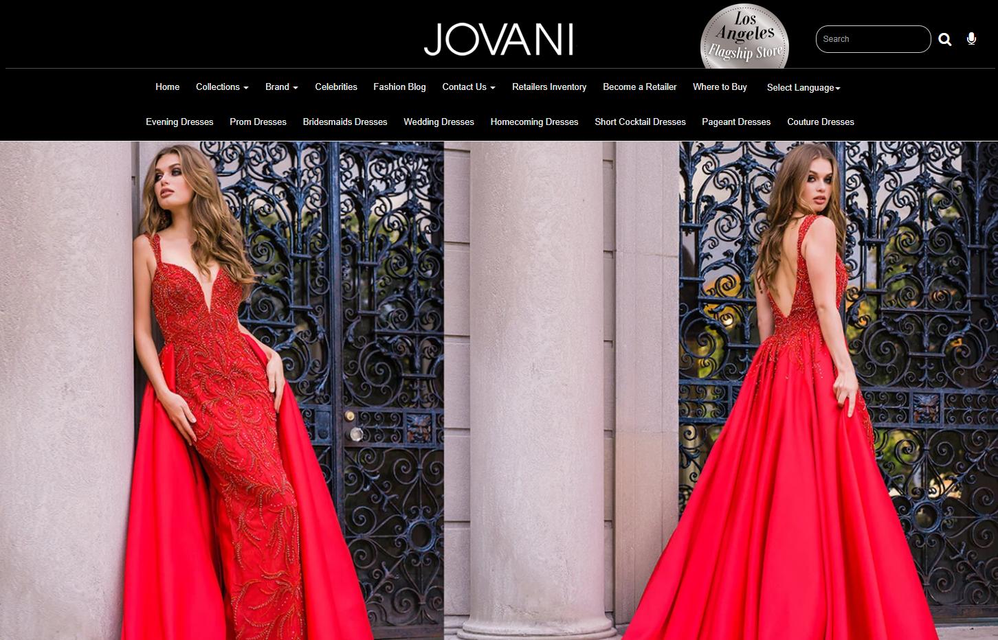 Jovani Homepage