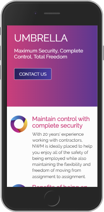 New NWM Mobile View