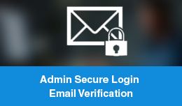 Admin Secure Login Email Verification